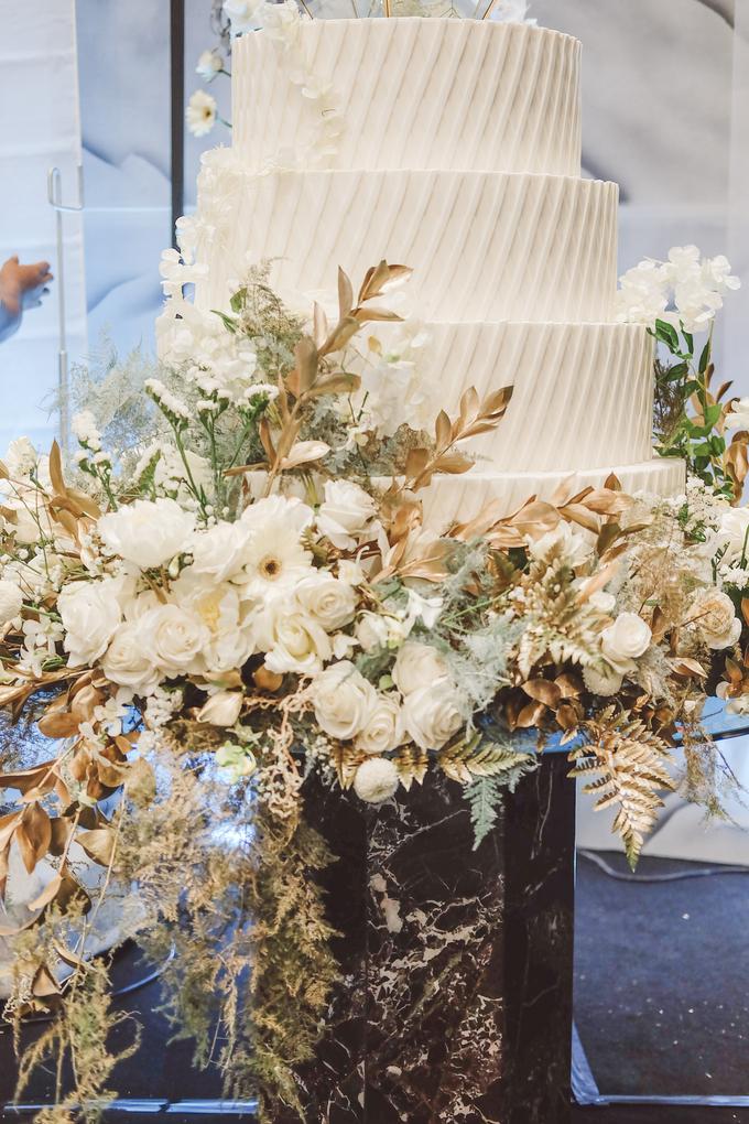 The wedding of David & Levana by KAIA Cakes & Co. - 003