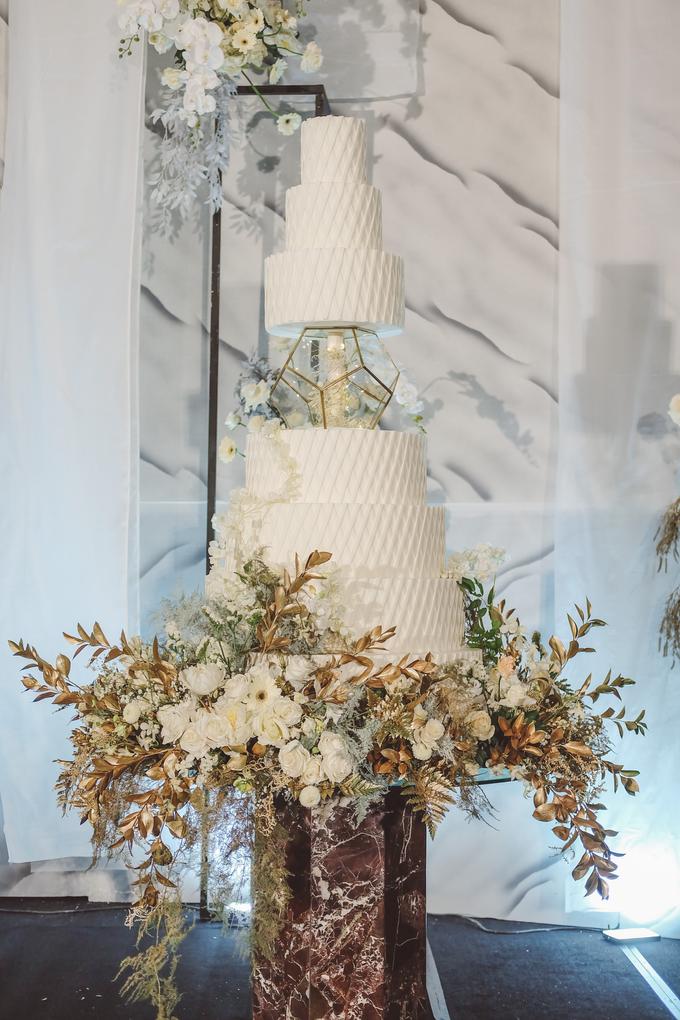 The wedding of David & Levana by KAIA Cakes & Co. - 017