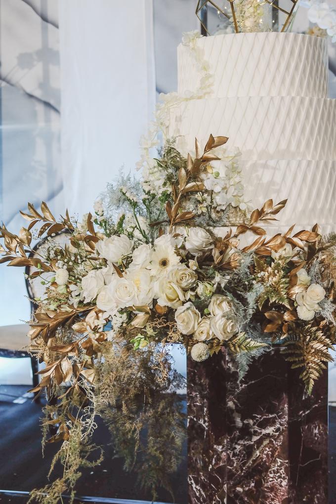 The wedding of David & Levana by KAIA Cakes & Co. - 016
