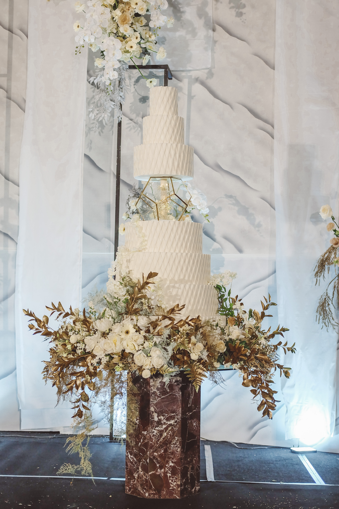 The wedding of David & Levana by KAIA Cakes & Co. - 019