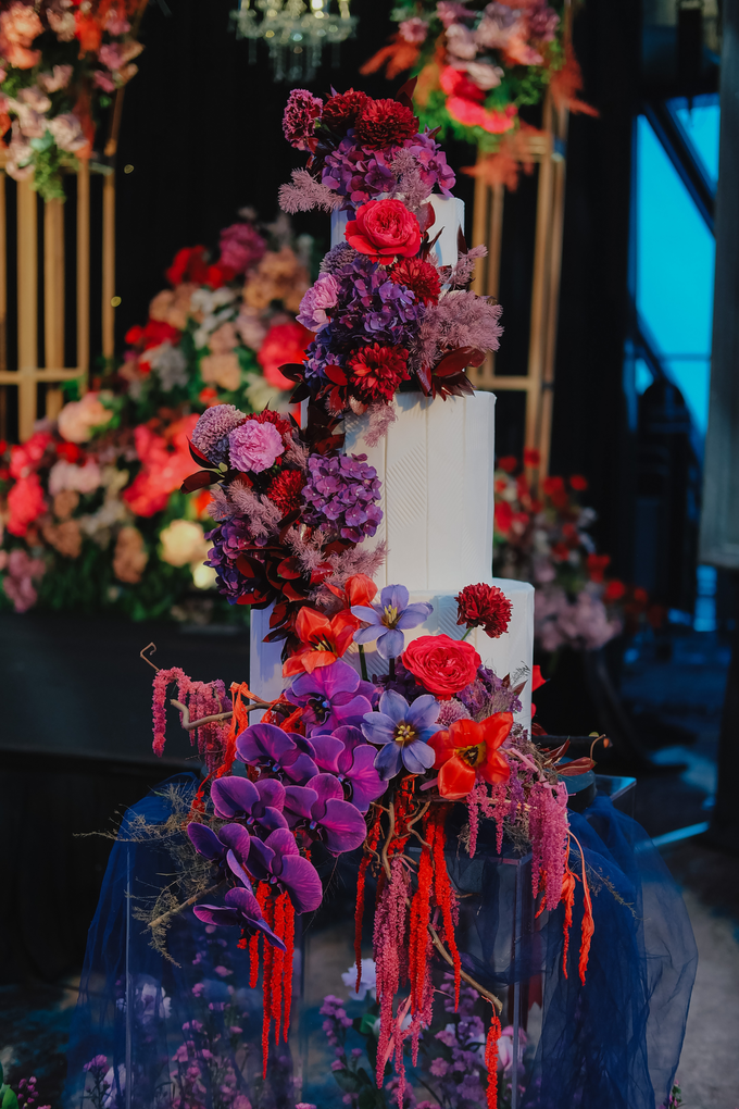 The wedding of Aditya & Felicia by KAIA Cakes & Co. - 012