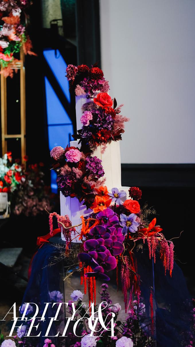 The wedding of Aditya & Felicia by KAIA Cakes & Co. - 031