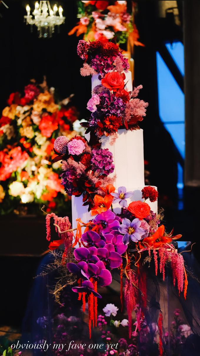 The wedding of Aditya & Felicia by KAIA Cakes & Co. - 036