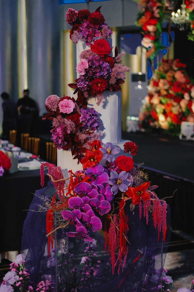 The wedding of Aditya & Felicia by KAIA Cakes & Co. - 039