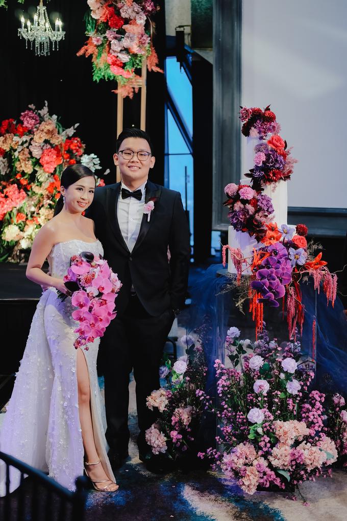 The wedding of Aditya & Felicia by KAIA Cakes & Co. - 001