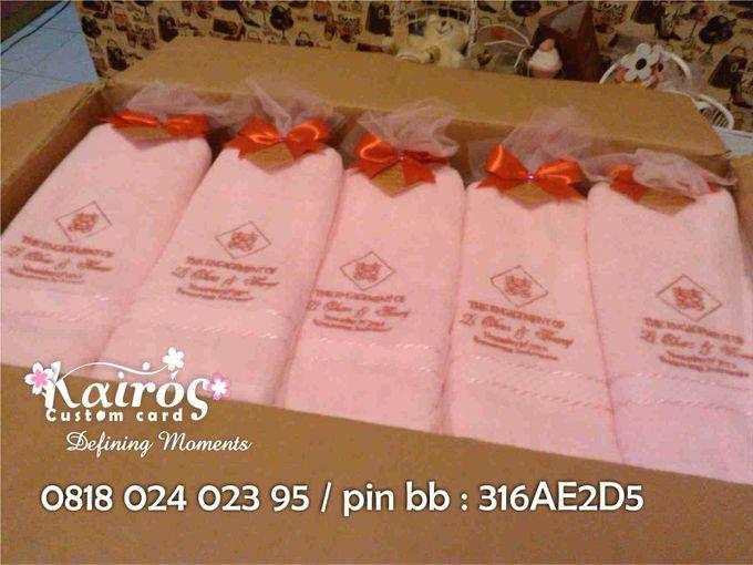 Li Chao & Fenny Engagement by Kairos Wedding Invitation - 003