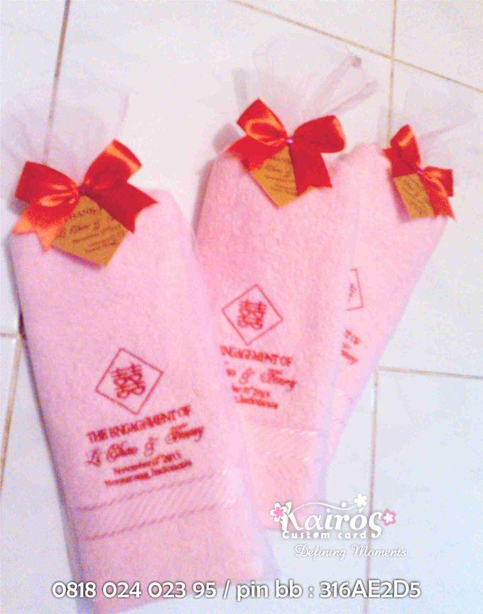 Li Chao & Fenny Engagement by Kairos Wedding Invitation - 002