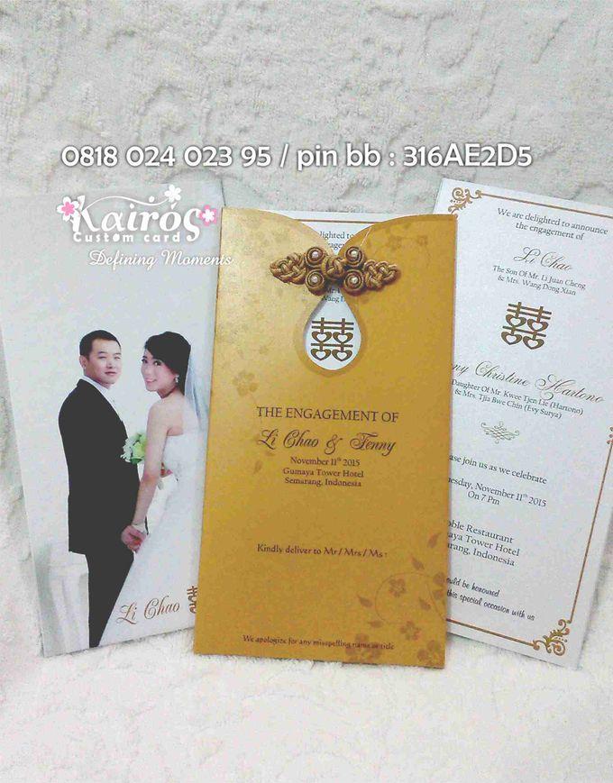 Li Chao & Fenny Engagement by Kairos Wedding Invitation - 009