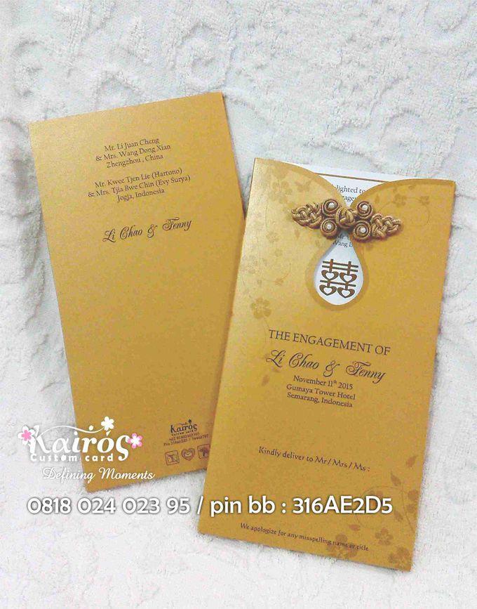 Li Chao & Fenny Engagement by Kairos Wedding Invitation - 001