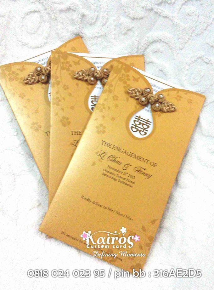 Li Chao & Fenny Engagement by Kairos Wedding Invitation - 008