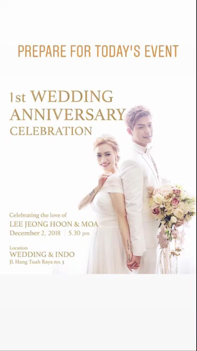 LEE & MOA 1st WEDDING ANNIVERSARY CELEBRATION by Kaleb Music Creative - 001