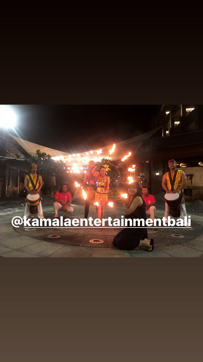 Fire Dance Capoera with Percussion  by Kamala entertainment centre - 005