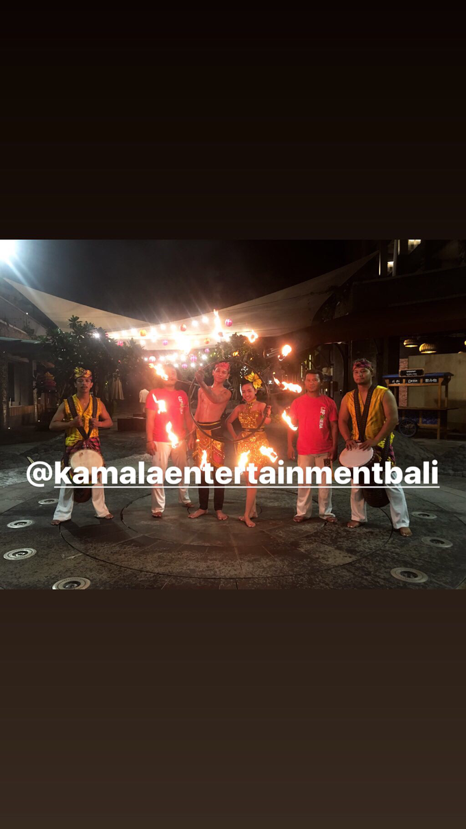 Fire Dance Capoera with Percussion  by Kamala entertainment centre - 002