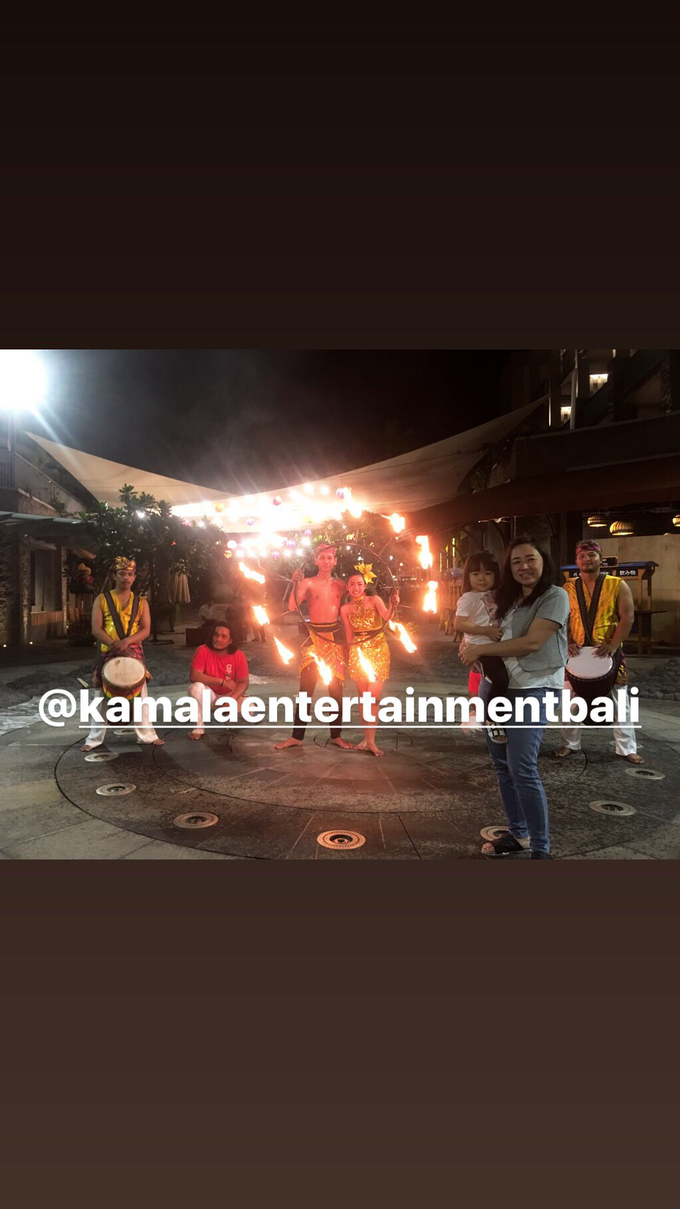 Fire Dance Capoera with Percussion  by Kamala entertainment centre - 004