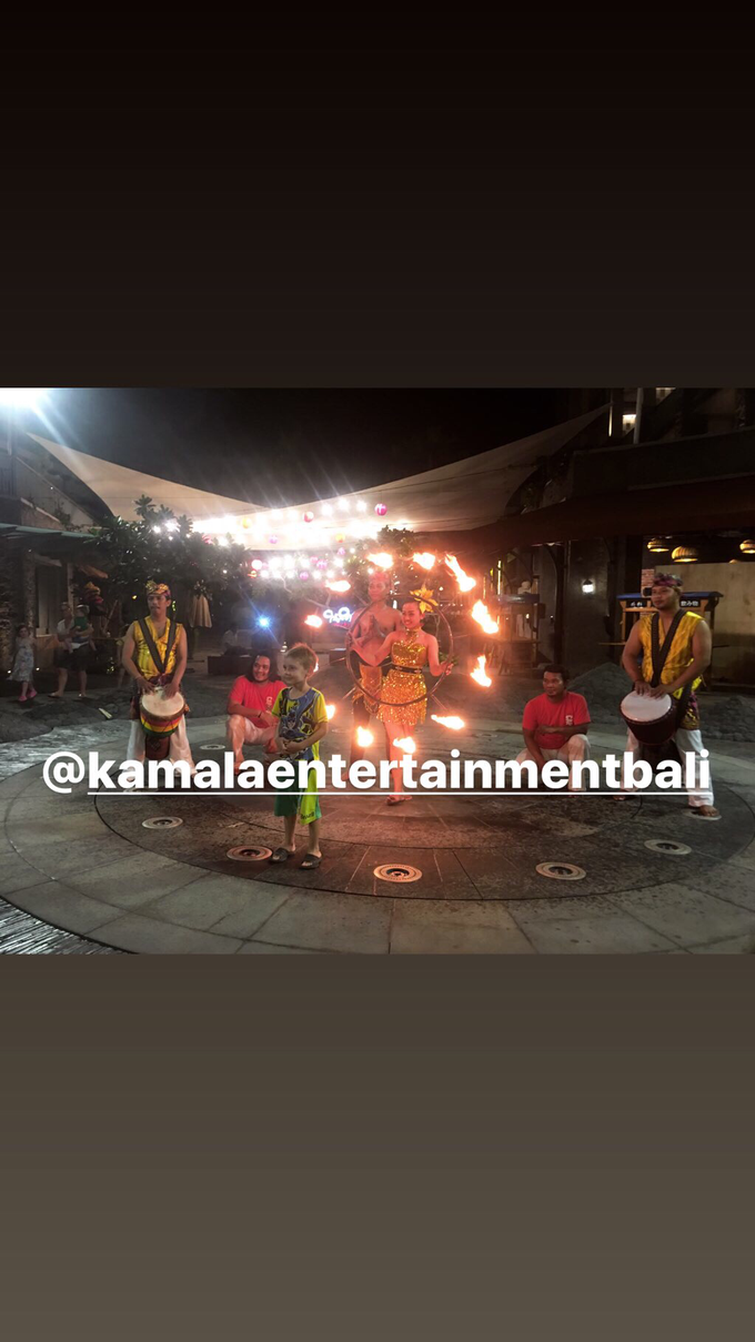 Fire Dance Capoera with Percussion  by Kamala entertainment centre - 006