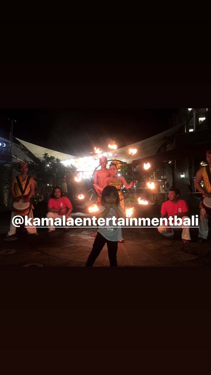 Fire Dance Capoera with Percussion  by Kamala entertainment centre - 007