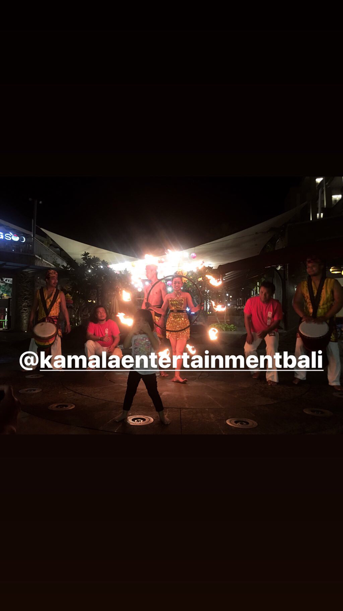 Fire Dance Capoera with Percussion  by Kamala entertainment centre - 008