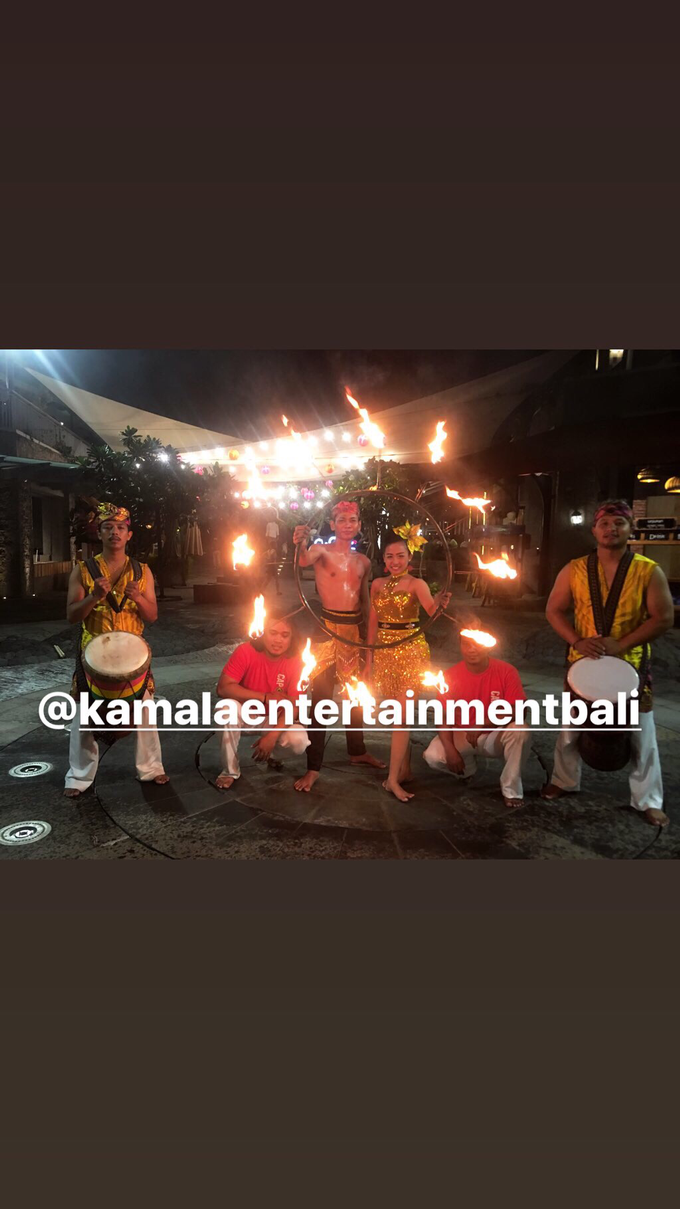 Fire Dance Capoera with Percussion  by Kamala entertainment centre - 009