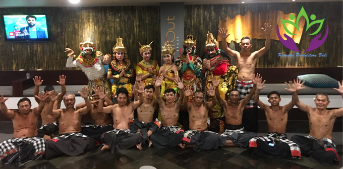 Kecak Dance 'Love story of Rama Shita' by Kamala entertainment centre - 002