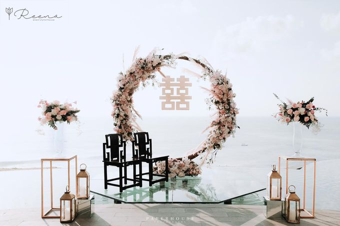 Intimate Romantic Tea Ceremony and Dinner Reception by Reena Event Stylist House - 001