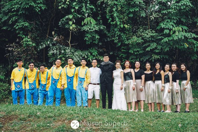 Kenneth & Joanne Wedding Day by Paper Pressed  - 019