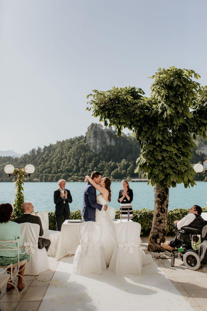 Summer Wedding At Lake Bled Slovenia by Wedding Lake Bled - 002