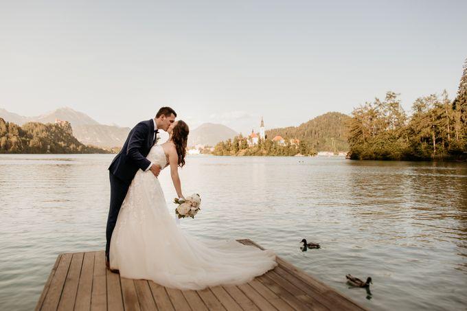 Summer Wedding At Lake Bled Slovenia by Wedding Lake Bled - 004