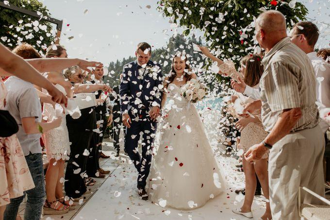 Summer Wedding At Lake Bled Slovenia by Wedding Lake Bled - 005