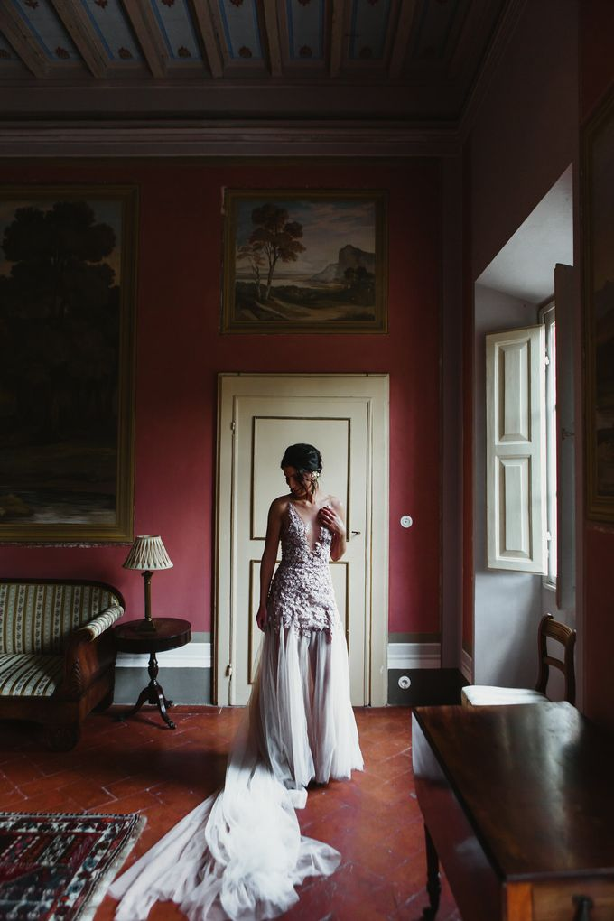 Intimate Wedding in Tuscan Artistic Villa by Fotomagoria - 020