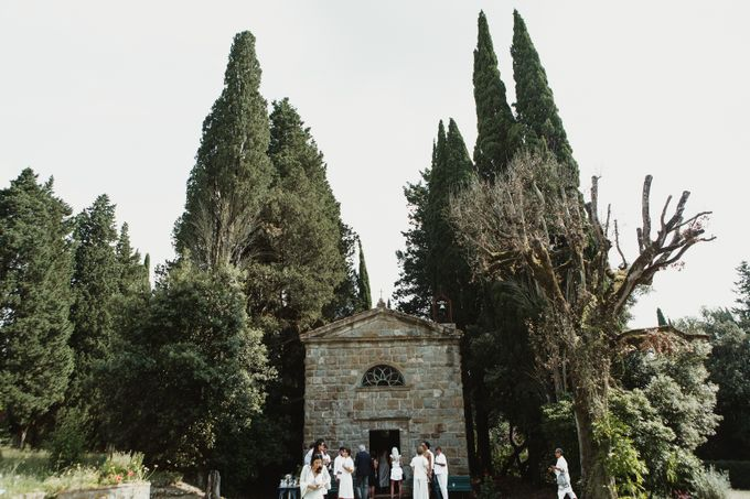 Intimate Wedding in Tuscan Artistic Villa by Fotomagoria - 030