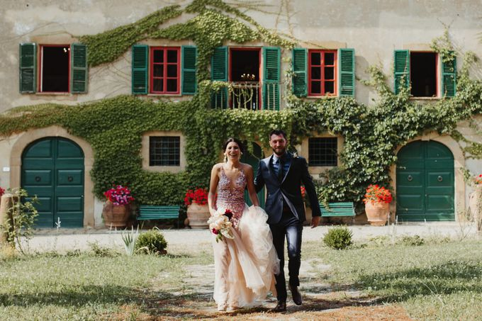 Intimate Wedding in Tuscan Artistic Villa by Fotomagoria - 032