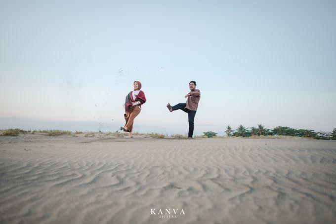 Sesi Prewedding Ceria Ketika Sunset by Kanva Pictura - 020