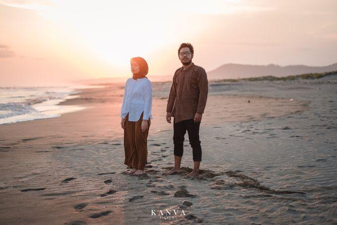 Sesi Prewedding Ceria Ketika Sunset by Kanva Pictura - 004