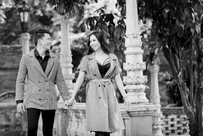 Dennis & Karen Engagement Session in Las Casas QC by Foreveryday Photography - 011