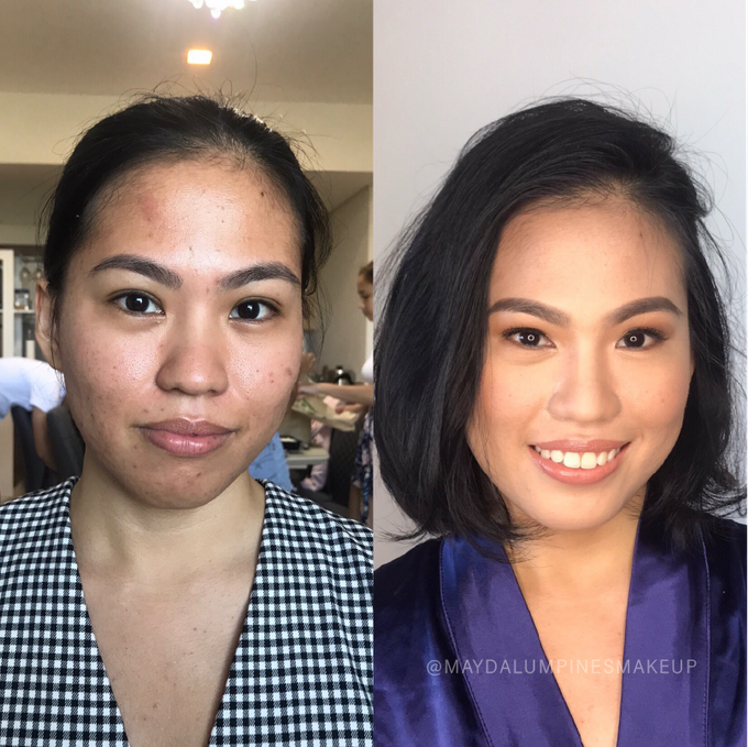 BEFORE & AFTER by May Dalumpines Makeup - 001
