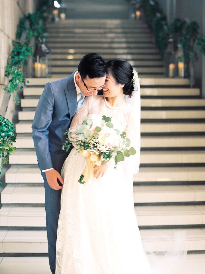 Karina & Dimas Wedding Reception by MERCANTILE PENTHOUSE WEDDING - 001