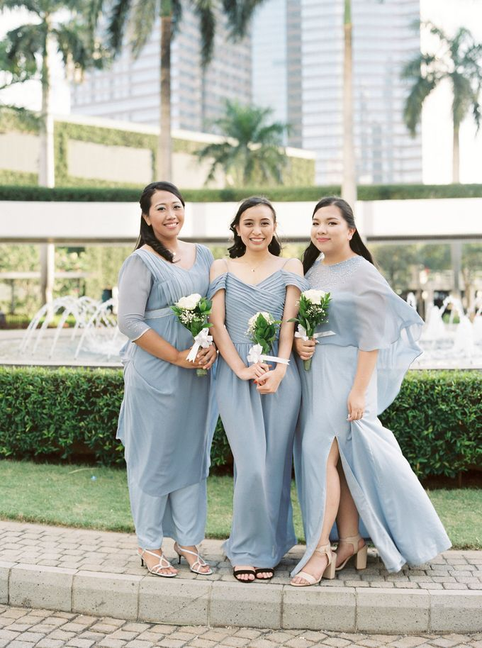 Karina & Dimas Wedding Reception by MERCANTILE PENTHOUSE WEDDING - 005