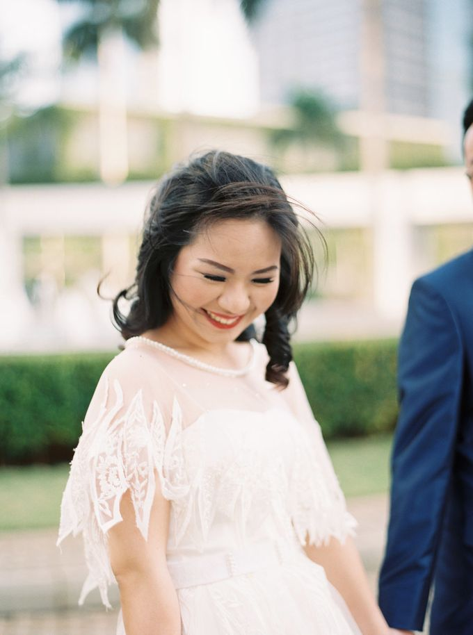 Karina & Dimas Wedding Reception by MERCANTILE PENTHOUSE WEDDING - 009