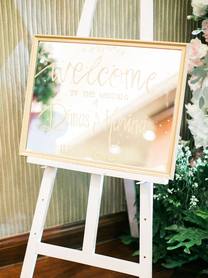 Karina & Dimas Wedding Reception by MERCANTILE PENTHOUSE WEDDING - 023