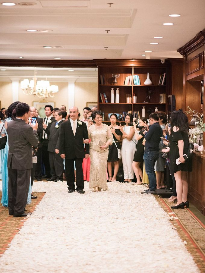 Karina & Dimas Wedding Reception by MERCANTILE PENTHOUSE WEDDING - 036