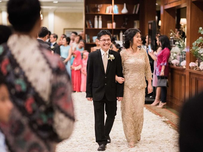 Karina & Dimas Wedding Reception by MERCANTILE PENTHOUSE WEDDING - 038