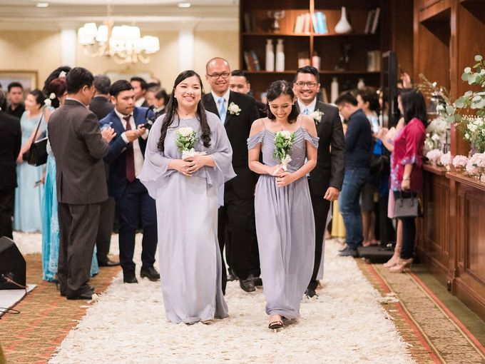 Karina & Dimas Wedding Reception by MERCANTILE PENTHOUSE WEDDING - 040