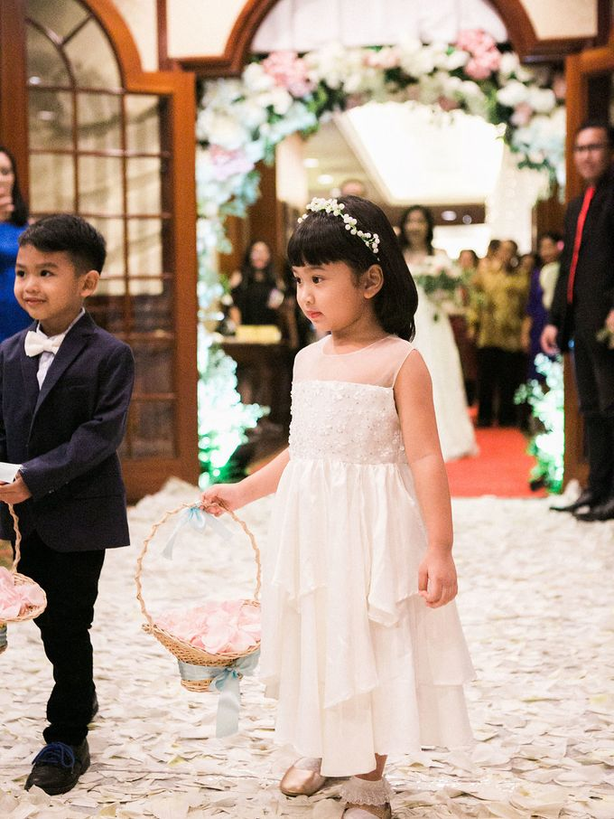 Karina & Dimas Wedding Reception by MERCANTILE PENTHOUSE WEDDING - 042