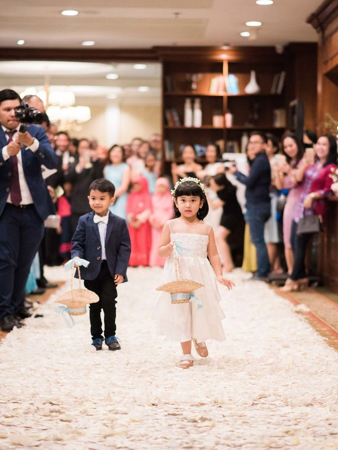 Karina & Dimas Wedding Reception by MERCANTILE PENTHOUSE WEDDING - 044