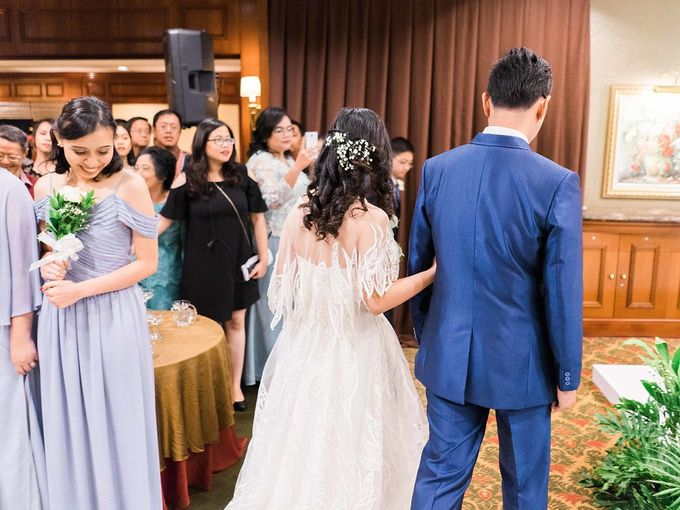 Karina & Dimas Wedding Reception by MERCANTILE PENTHOUSE WEDDING - 050