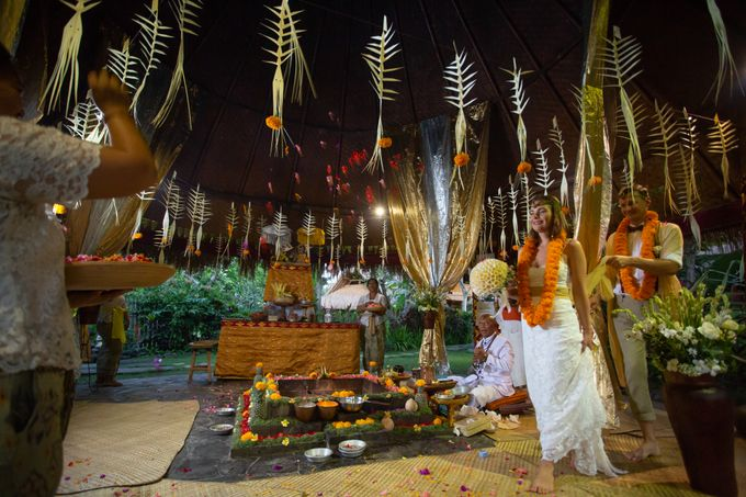Agni Hotra Wedding Blessing Ceremony by Fivelements Bali Retreat - 008