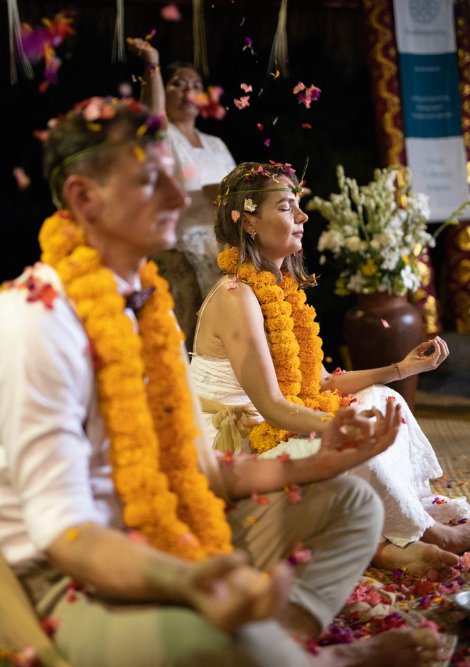 Agni Hotra Wedding Blessing Ceremony by Fivelements Bali Retreat - 001