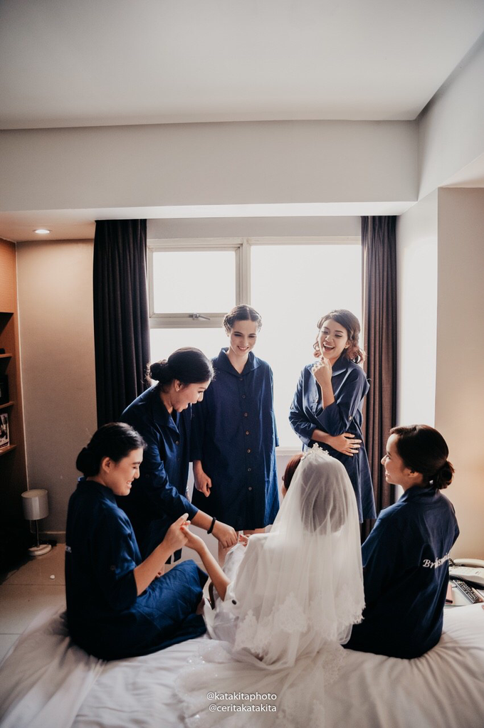 Prita & Nanda's Wedding by Katakita photography - 007