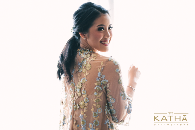 Romantic Engagement of Inda & Rino by Katha Photography - 003
