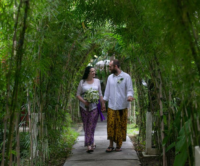 Katie & Nial Balinese Wedding in Ubud by The Mansion Baliwood Resort Hotel and Spa - 006